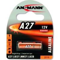 Ansmann pile alcaline A27, 12V, paquet de 1 (1516-0001)