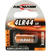 Pile alcaline Ansmann, 6 V, 4LR44, pack de 1 (1510-0009)