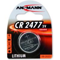 Ansmann pile bouton 3V Lithium CR2477, blister 1 pièce (1516-0010)