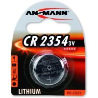Ansmann pile bouton 3V Lithium CR2354, blister 1 pièce (1516-0012)