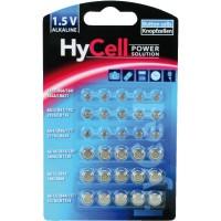 Ensemble de piles bouton alcalines Ansmann HyCell, 30 pièces. (5015473)