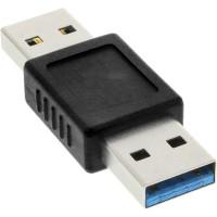 Adaptateur InLine® USB 3.0 Type A mâle à Type A mâle
