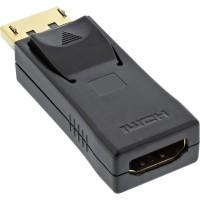 Adaptateur DisplayPort, InLine®, prise DisplayPort sur prise HDMI femelle noir
