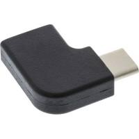 Adaptateur InLine® USB 3.1, type C mâle à C femelle, coudé (Gen.2)