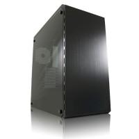 Valise de jeu ATX Gaming LC-Power Midi-Tower, Dark Shadow, noir, sans alimentation intégrée