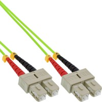 Câble duplex optique en fibre InLine® SC / SC 50 / 125µm OM5 2m