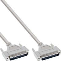 Câble sériel, InLine®, 37 broches mâle/mâle, affecté 1:1, 3m