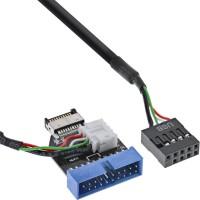 Adaptateur InLine® USB 3.1 à 3.0 interne