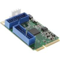 InLine® Mini PCIe Card 4x Carte d'interface USB 3.0