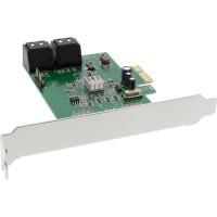 Contrôleur InLine® SATA 6Gb / s avec 4 ports SATA PCI-Express 2.0