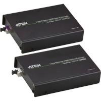 Extension audio et vidéo HDMI ATEN VE892 + IR + RS232 via un câble à fibre optique (jusqu'à 20 km)