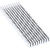 Refroidisseur InLine® SSD, ailettes de refroidissement / dissipateur de chaleur, adapté au M.2 SSD