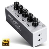 InLine® Ampli casque Hi-Res AUDIO mobile AmpEQ + prise égaliseur 3,5 mm, avec batterie rechargeable