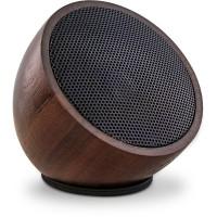 "Haut-parleur Bluetooth ""Woodwoom"" InLine® en bois de noyer 52mm"