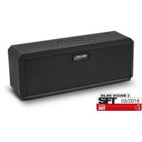 InLine® WOOME 2 - Haut-parleur Bluetooth stéréo sans fil True, noir
