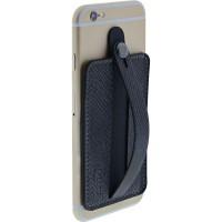 InLine® - Étui pour carte de crédit pour smartphone, avec dragonne, noir