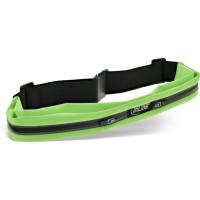 Sac de ceinture sport InLine® Duo vert, extensible, tour de taille 78-125cm