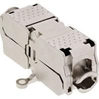 Module de connexion Cat.6, InLine®, avec technologie LSA, blindé