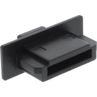 InLine® Dust Cover pour eSATA port femelle noir 4 pcs.