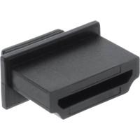 InLine® Dust Cover for HDMI femelle Port noir 10 pcs.