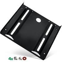 """Cadre de montage InLine® HDD / SSD, 2,5 """"à 3,5"""", avec vis, noir"""
