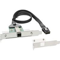 Support InLine® SAS HD avec câble ext. SFF-8644 à int. SFF-8087 0.5m