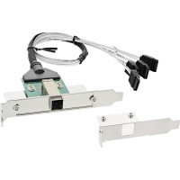 Support InLine® SAS HD avec câble ext. SFF-8644 à int. 4x SATA 0.5m