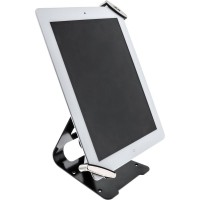 """Support de verrouillage de tablette universelle InLine® pour 7 """"à 10,1"""" avec serrure à clé Diam. Du câble 4,4 mm x 1,5 m"""