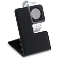Support InLine® pour Apple Watch pour bureau / tablette, noir, pliable