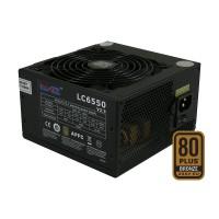 Bloc d'alimentation ATX PFC LC-Power SUPER SILENCE LC6550 V2.3, noir, 550W, 80 PLUS® BRONZE