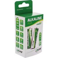 Batterie alcaline haute énergie InLine®, Micro (AAA), Boîte de couleurs 24 pièces