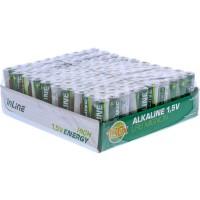Pile alcaline haute énergie InLine®, Mignon (AA), plateau 100 pièces