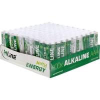 Pile alcaline haute énergie InLine®, Micro (AAA), plateau 100 pièces