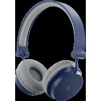 Casque Bigben Bluetooth bleu et gris pliable