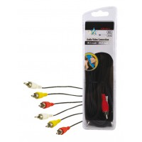 CABLE AUDIO/VIDEO BASIQUE HQ - 5m
