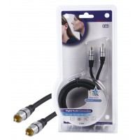 HQ High quality RCA connection cable 2.50 m