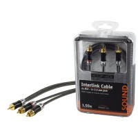 CABLE AUDIO 2X RCA VERS JACK 3.5MM 1.5M KÖNIG
