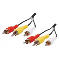 CABLE 3 RCA - 3RCA - 5m