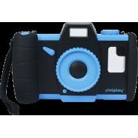 Boitier appareil photo Pixlplay Camera bleu pour smartphone