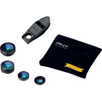 Lens Kit 4 en 1 noir PNY