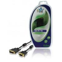 CABLE DE CONNEXION VGA-DVI 1.5M HQ
