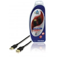 CABLE USB 2.0 M/F 1.8M HQ