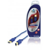 CABLE USB 3.0 MALE/MALE B 1.8M HQ