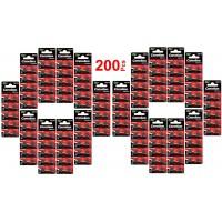 LOT en paquet 200 PILES bouton alcaline LR1130 AG10 Liseuses, Montres, calculatrices, caméras, pointeurs