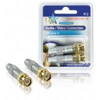 HQ BNC plugs (2x)