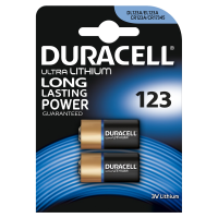 Pile Duracell SPE Lithium 123
