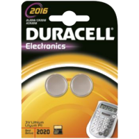 2 piles bouton Duracell SPE 2016