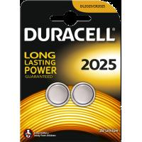 Lot de 2 piles boutons Duracell au lithium 2025