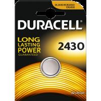 1 pile bouton Duracell au lithium 2430