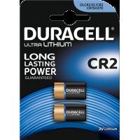 Lot de 2 piles Ultra lithium CR2 Duracell